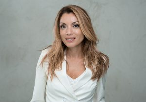 Alexandra Pascalidou Kvinna till Kvinna ambassadör