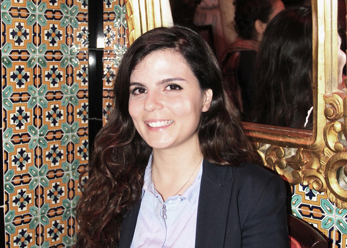 Mariem Bouattour, ordförande i Kvinna till Kvinnas samarbetsorganisation Aswat Nissa. Foto: Kvinna till Kvinna/Karolina Sturén