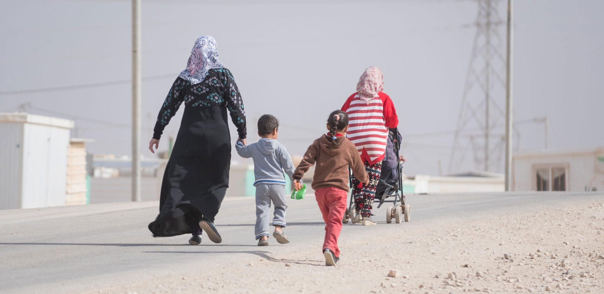 Många människor på flykt från Syrien tvingas bo många år i jordanska läger, där är framför allt kvinnorna ofta skyddslösa och utsatta. Foto: Christopher Herwig