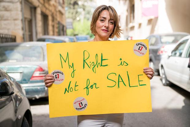 Nadira Nahhas engagerar sig för att kvinnor i Libanon ska ha samma rättigheter som män. Foto: Christopher Herwig