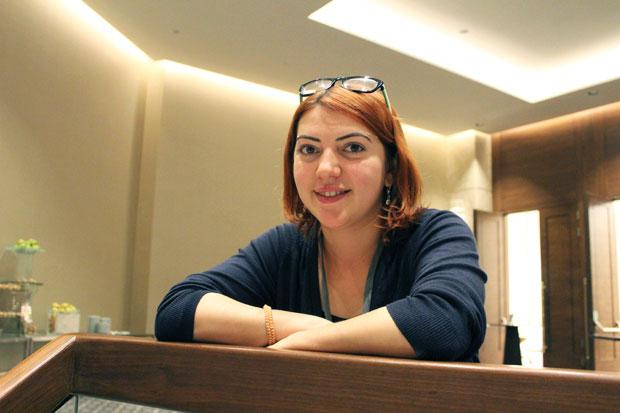 Antalet könsselektiva aborter är alarmerande högt i Armenien. Elvira Meliksetyan arbetar för att stoppa utvecklingen. Foto: Kvinna till Kvinna/Ida Svedlund