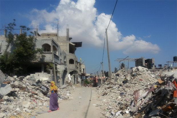 Desperata åtgärder som överlevnadssex ökar bland de kvinnor som inte har möjlighet till egen försörjning i Gaza. Foto: Kvinna till Kvinna/ Magnea Marinósdóttir