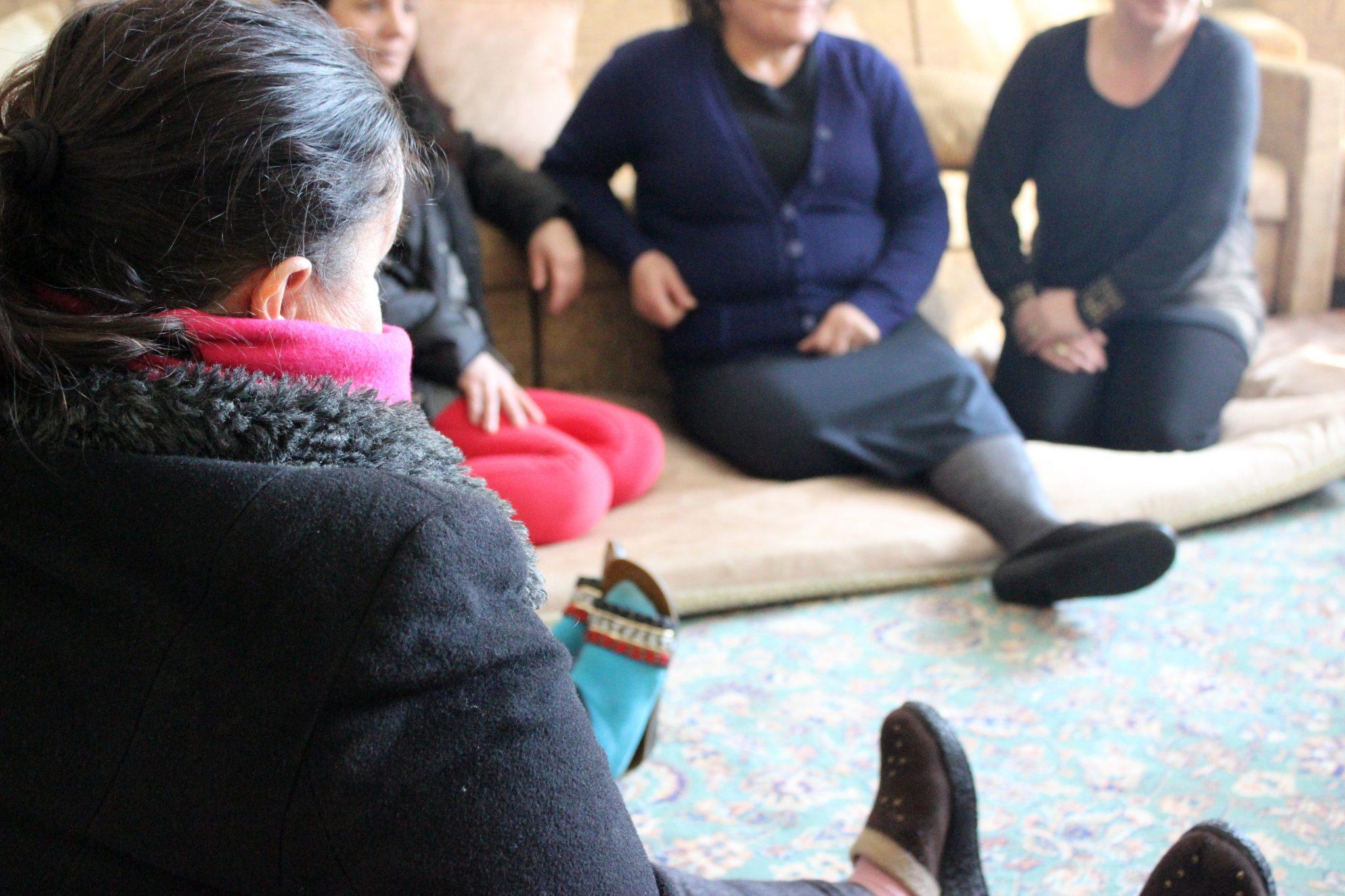 Efter att Luljeta fått hjälp av Kvinna till Kvinnas partnerorganisation Medica Kosova har hon fått förbättrade levnadsvillkor. Foto: Lyra Vula