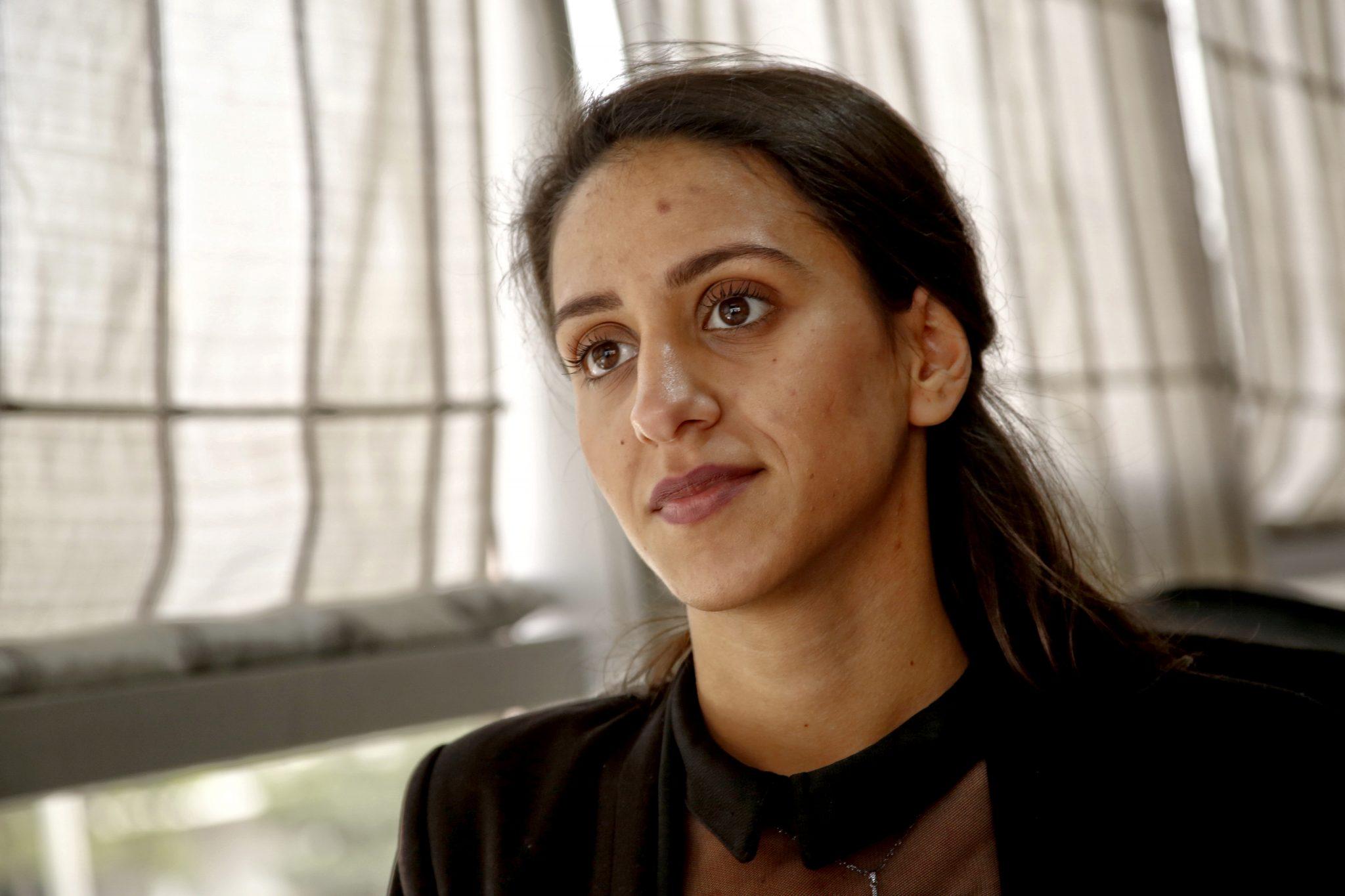Aktivisten Lule Fila har stärkts efter att ha deltagit i NRAEWOK:s aktiviteter. Foto: Driton Paqarada