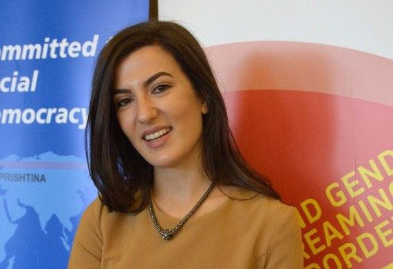Nita Zogiani är projektledare på Kvinna till Kvinnas partnerorganisation Kosovar Gender Studies Center.