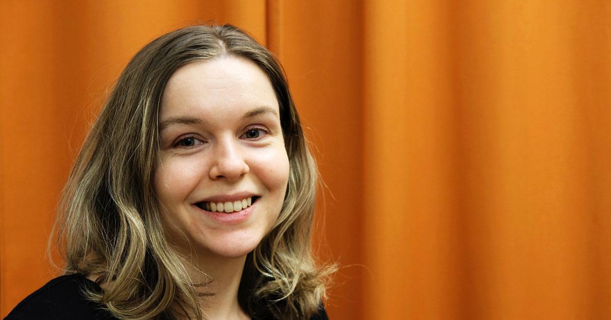 Caroline Westerlund är ledare i Gemaket. Foto: Julia Örtegren.