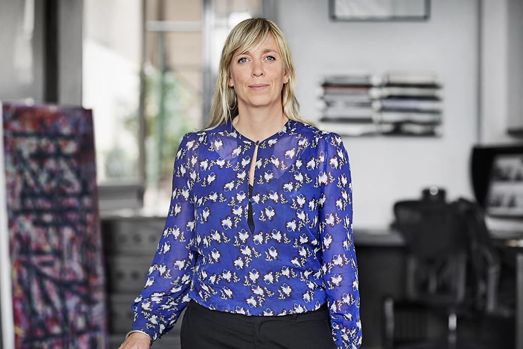 Sanna Hederus, chefsarkitekt och delägare på Kod Arkitekter. Foto: Måns Berg