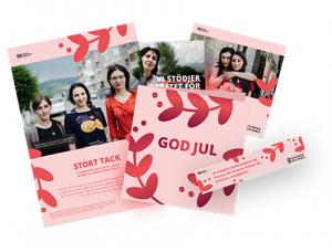 Kvinna till Kvinnas tackkit för julgåvor (företag) 2019.