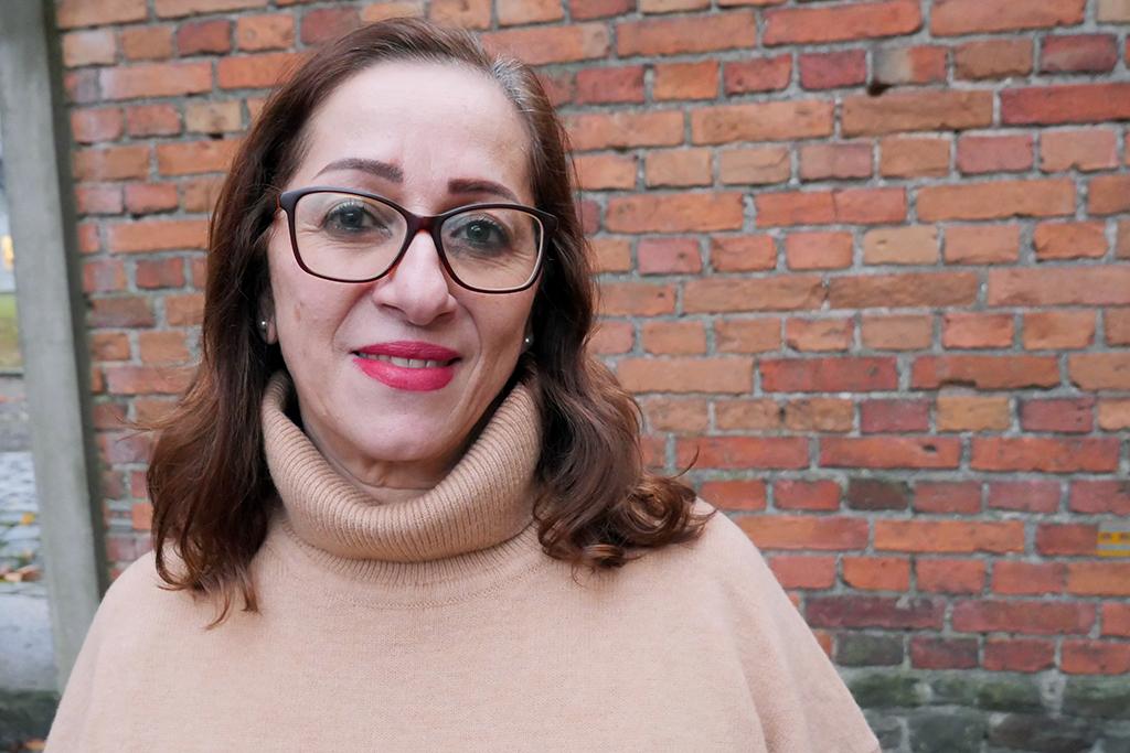 Sama Aweidah arbetar för kvinnors rättigheter på Västbanken. Hon är generalsekreterare för Kvinna till Kvinnas partnerorganisation Women's Studies Centre. Foto: Ida Svartveden / Kvinna till Kvinna
