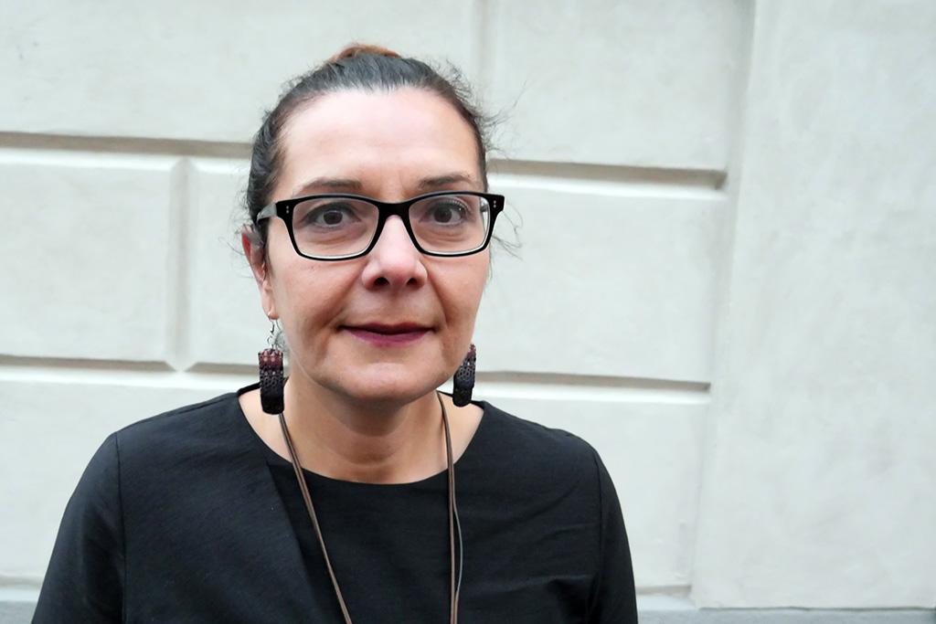Aleksandra Petric driver arbetet för kvinnors rättigheter framåt i Bosnien-Hercegovina. Foto: Ida Svartveden / Kvinna till Kvinna