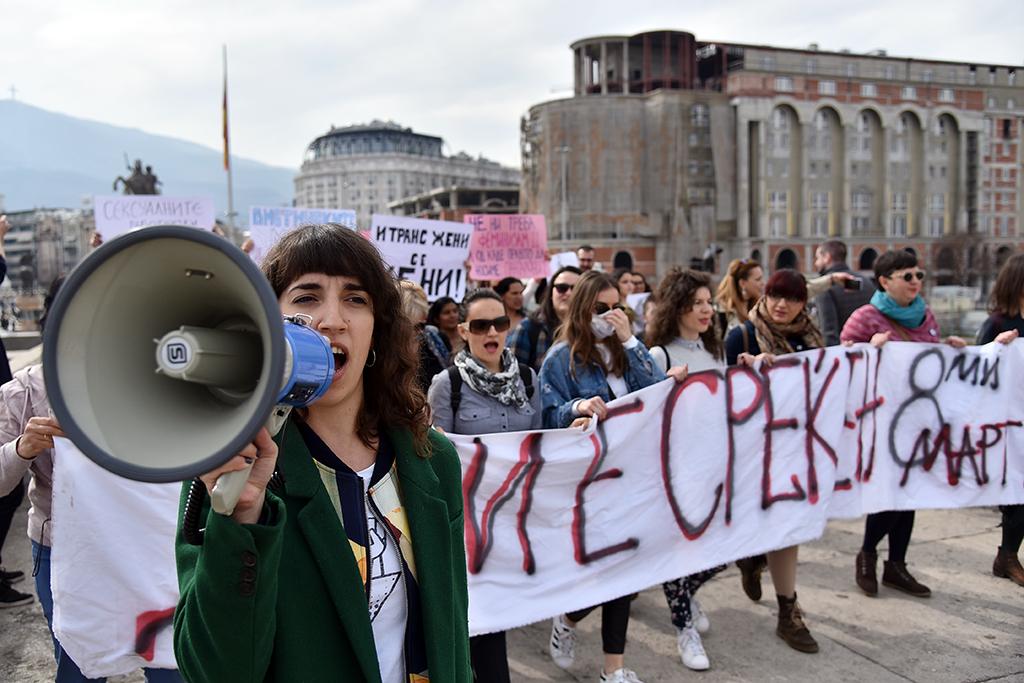 """Just nu jobbar kvinnorättsrörelsen i motvind i många delar av världen. Kvinna till Kvinna har analyserat det växande hotet mot kvinnors rättigheter i rapporten """"The Fierce and the Furious"""". Foto: Maja Janevska Ilieva"""