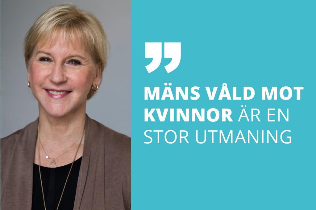 Margot Wallström har försvarat kvinnors rättigheter på den internationella arenan. Hennes politiska intresse väcktes dock på det lokala planet genom engagemang i SSU, Sveriges Socialdemokratiska Ungdomsförbund. Foto: Kristian Pohl/Regeringskansliet