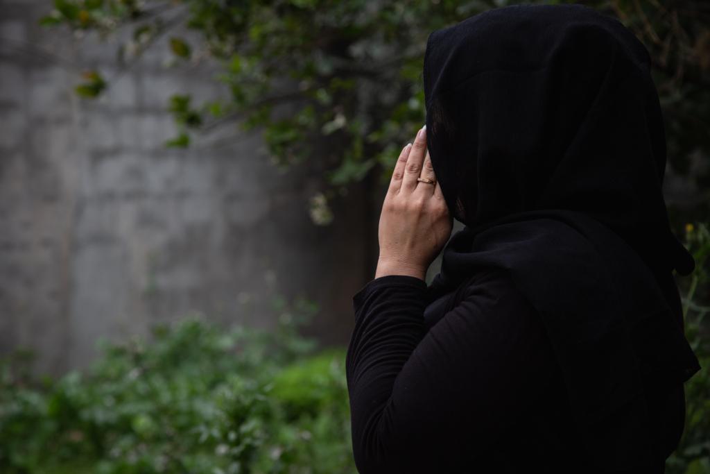 Heba (som egentligen heter något annat) sökte hjälp hos Kvinna till Kvinnas partnerorganisation Pena Center for Combatting Violence Against Women för fem år sedan. Foto: Teba Sadiq